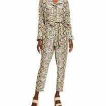 Nwt Camilla Python Print Silk Jumpsuit Sz Xs Photo