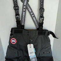 Nwt Canada Goose Tundra Down Cargo Pants Womens Medium M Graphite Grey Ski Photo