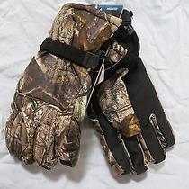 Nwt Carhartt Ap Grey Camo Ts Gauntlet Insulated Performance Gloves A528 Size Xxl Photo