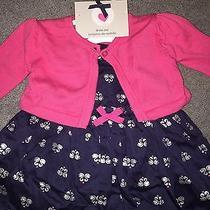 Nwt Carter's Dress & Diaper Cover 3 Mos Super Cute Photo