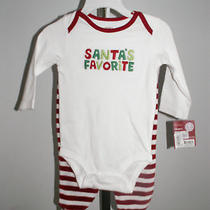 Nwt Carter's Holiday 2pc Set