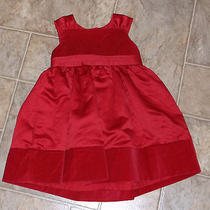 Nwt Carters Red Dress- 24 Months      Photo