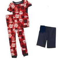 Nwt Carters Baby Boy Clothes Sleepwear Pajama Red Navy Pirate Ships 18 Months Photo