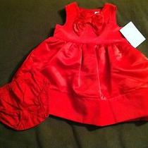 Nwt Carters Red Dress-Size 6 Months Photo