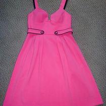 Nwt Celebrity Black Halo Pink Low Cut Theory Dress 4 S Mbcbg Alice Olivia Cuff Photo