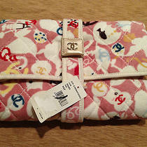 Nwt Chanel Terry Cloth Multicolor Changing Pad Photo