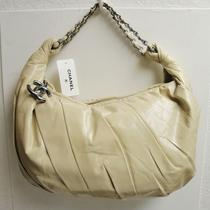 Nwt Chanel Twisted Leather Silver Hw Large Hobo Shoulder Bag Photo