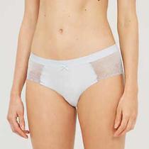 Nwt Chantelle C27340 Women's Le Marais Gray Hipster Lace Trim Panties Size 8-Xl Photo