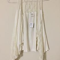 Nwt Charlotte Russe Cream Lace Jacket Sexy Blouse Size S Photo