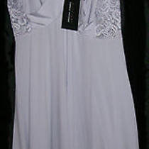 Nwt Chemise Nighty Midnight by Carole Hochman Lavender Lace Medium Photo