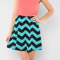 Nwt Chevron Missoni Dress Aqua Teal Blue Coral Pink Medium Zig Zag Stripes Black Photo