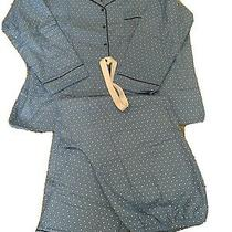 Nwt Classic Elements Woman Two Piece Pajama Set Blue With Stars Size 2x Photo