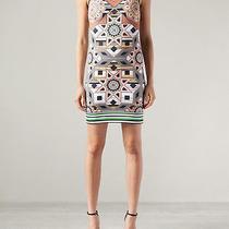 Nwt Clover Canyon Diamond Quilt Dress Sz L Photo