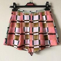 Nwt Clover Canyon Pockets Multi Shorts Size Xs Made in Usa Photo
