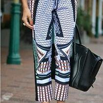 Nwt Clover Canyon Printed Drawstring Pants in Large Photo