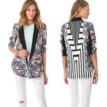 Nwt Clover Canyon White Paisley Road Jacket  Xs Retail 440 Photo