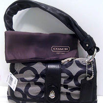 Nwt Coach 13408 Parker Op Art Soft Small Flap Photo