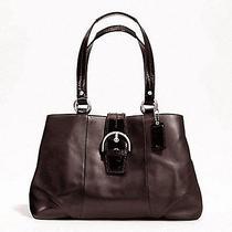 Nwt Coach 19248 Svma Soho Leather Carryall Handbag Brown Mahogany Photo