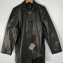 Nwt Coach 1941 100% Leather Womens Long Hidden Button Coat  Photo