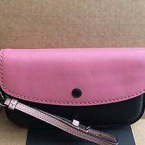 Nwt Coach 27097 Bright Pink Clutch in Colorblock Photo