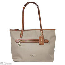 Nwt Coach 37237 Stone Sawyer Tote  Gift Rec't Included Photo