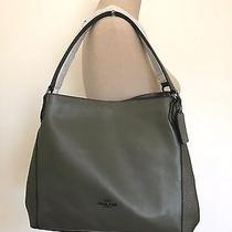 Nwt Coach 55529 Grey Birch Mixed Leather Edie 31 Shoulder Bag Tote  Photo
