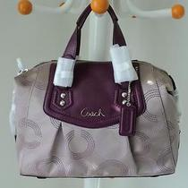 Nwt Coach Ashley Dotted Op Art Satchel Style F20027 Photo