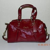 Nwt Coach Ashley Patent Satchel  Photo