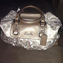 Nwt Coach Ashley Satchel Handbag F18437 Khaki Photo
