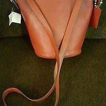Nwt Coach Bleecker Mini Duffle Bag in Glove Tanned Leather 32281 Red Currant Photo