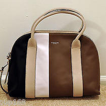 Nwt Coach Bleecker Preston Satchel in Colorblock Leather 30151 Msrp 398 Photo