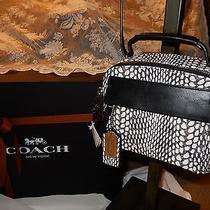 Nwt Coach Bleecker Snake Painted Pinnacle Leather Crossbody Shoulder Bag 28306 Photo