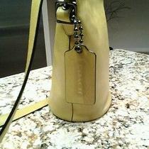 Nwt Coach Bleeker Sport Mini Duffle Leather Bag Qb/saffron Crossbody Photo