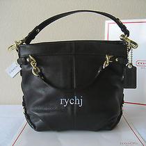 Nwt Coach Brooke Leather Handbag Mahogany 14142 Photo