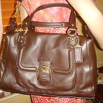 Nwt Coach Campbell Large Leather Satchel Mahogany 25151  418  Photo
