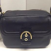 Nwt Coach Campbell Leather Camera Cross Body 258.00 Photo