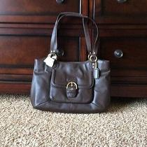Nwt Coach Campbell Leather Carryall - Mahogany - Brown F24961 Msrp 418 Photo