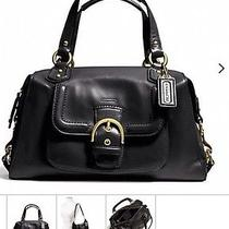 Nwt Coach Campbell Leather Satchel 378 Photo
