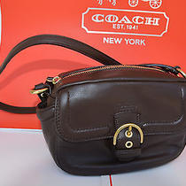 Nwt Coach Campbell Mahogany Leather Crossbody Bag 25150 Retails 258 Photo