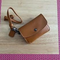 Nwt Coach Card Pouch Wristlet Mini Wallet Id Case Wallet Leather 21086  Photo