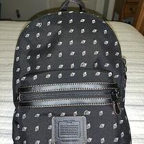 Nwt Coach Charlie Canvas Large Shoulder Backpack Bag Purse Photo