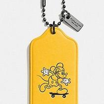 Nwt Coach Disney X Mickey Mouse Key Chain/hang Tag F59153 Photo