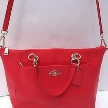 Nwt Coach F34508 Pebbled Leather Satchel  Photo