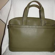 Nwt Coach F71561 Man's Hudson Smooth Leather Bag/briefcase B75 in Surplus Photo