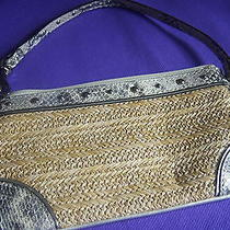 Nwt Coach Hard to Find Wristlet 47484 Hampton's Weekend Woven W/gift Box Photo