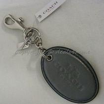 Nwt Coach Key Ring 64068 Star Canyon .oval. Keyring/keychain/bag Charm. Photo