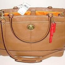 Nwt Coach Large Satchel/ Authentic Never Used- Leather Photo