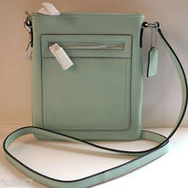 Nwt Coach Legacy  Leather Swingpack 47989mint Photo