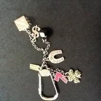 Nwt Coach Lucky Mix Key Fob Ring Chain 92784 58 Dice 7 Charms  Clover 8 Ball  Photo