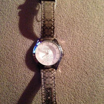 Nwt Coach Maddy Stainless Steel Signature Strap Watch - Very Hard to Find Photo